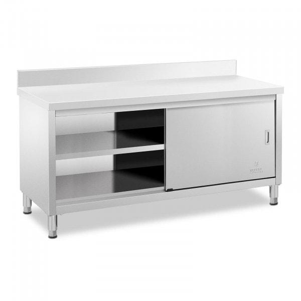 Stół roboczy z szafką - rant - 180 x 60 cm - 600 kg