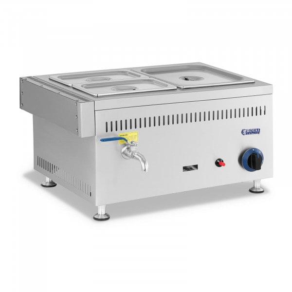 Bemar gazowy - 3300 W - 3 GN - 0,02 bar - G20