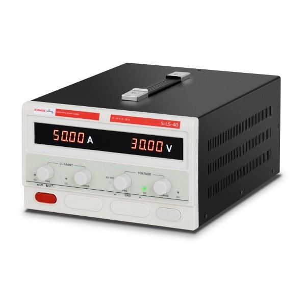 Zasilacz laboratoryjny - 0-30 V - 0-50 A DC