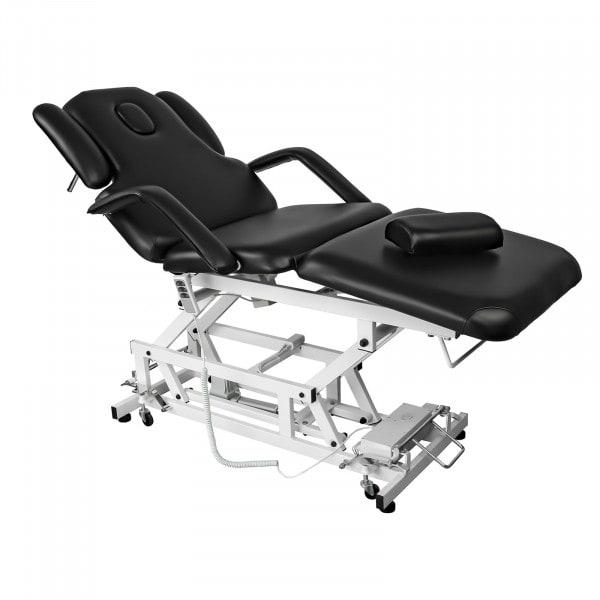 Elektryczne łóżko do masażu Delirious - czarne