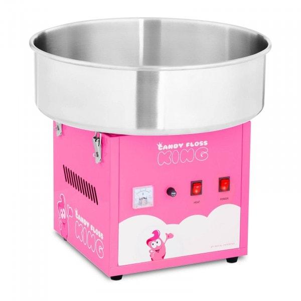 Maszyna do waty cukrowej - 52 cm - różowa