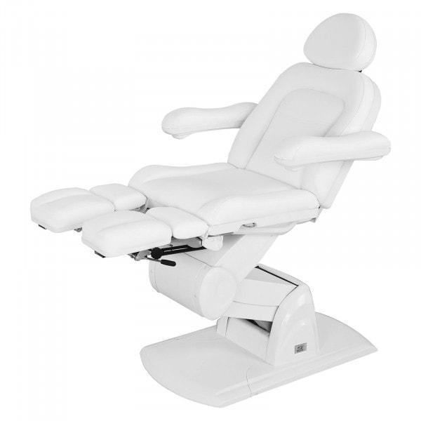 Fotel kosmetyczny Physa Nice do pedicure biały