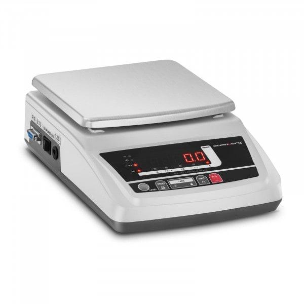 Waga laboratoryjna - LED - 6000 g / 0,1 g