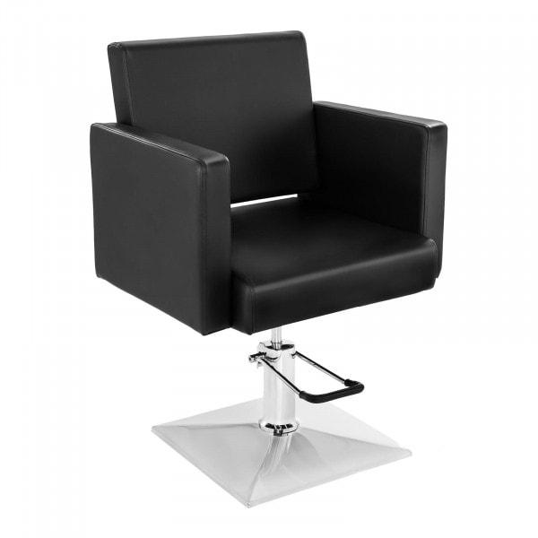 Fotel fryzjerski Physa Salerno - czarny