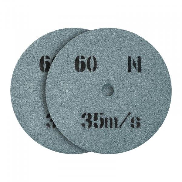 Tarcza do szlifowania - ziarnistość 60 - 150 x 16 mm - 2 szt.