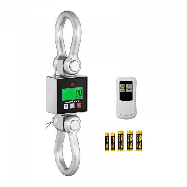 Waga hakowa - 3000 kg - 0,5 kg lub 1 kg - LCD