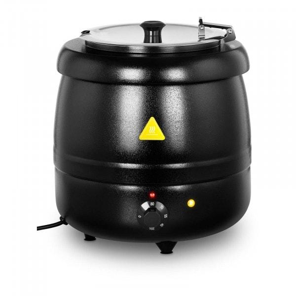Kociołek do zupy elektryczny - 10 l - 400 W - czarny