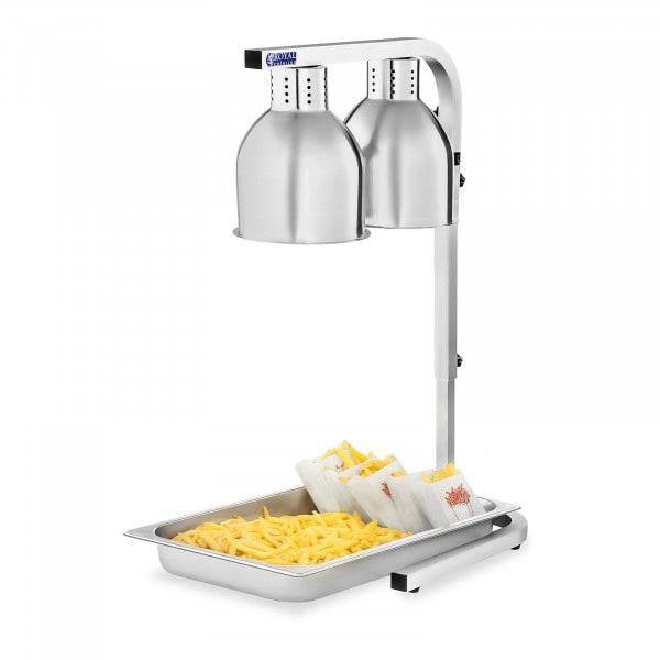 Lampa grzewcza do potraw - podwójna - 2 x 275W