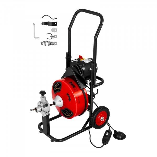 Przepychacz do rur - 390 W - Ø 25 ‒ 125 mm