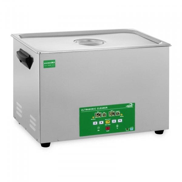 Myjka ultradźwiękowa - 28 litrów - 480 W - Memory Quick Eco