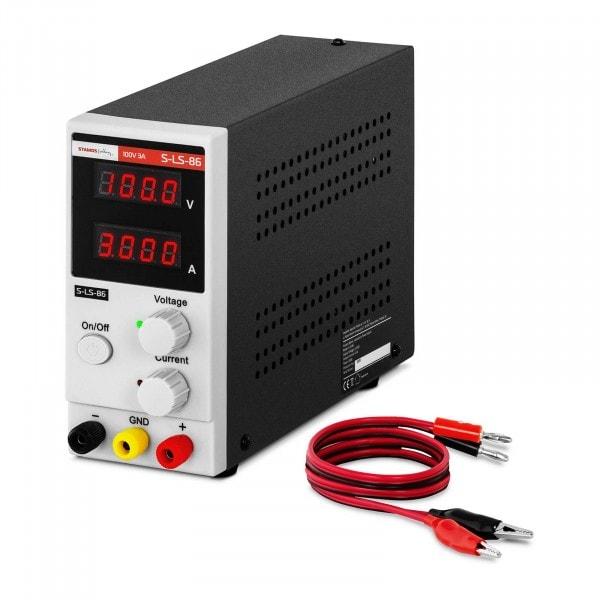 Zasilacz laboratoryjny - 0-100 V - 0-3 A - 300 W