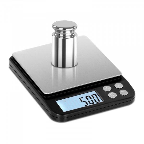 Waga kuchenna - 500 g / 0,01 g - LCD
