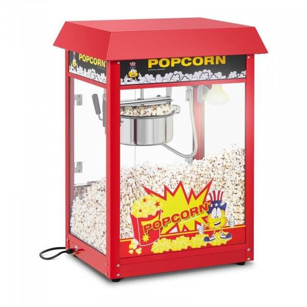 Maszyna do popcornu - 1495 W - czerwony daszek