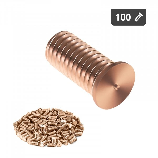 Kołki do zgrzewania - M5 - 12 mm - 100 sztuk