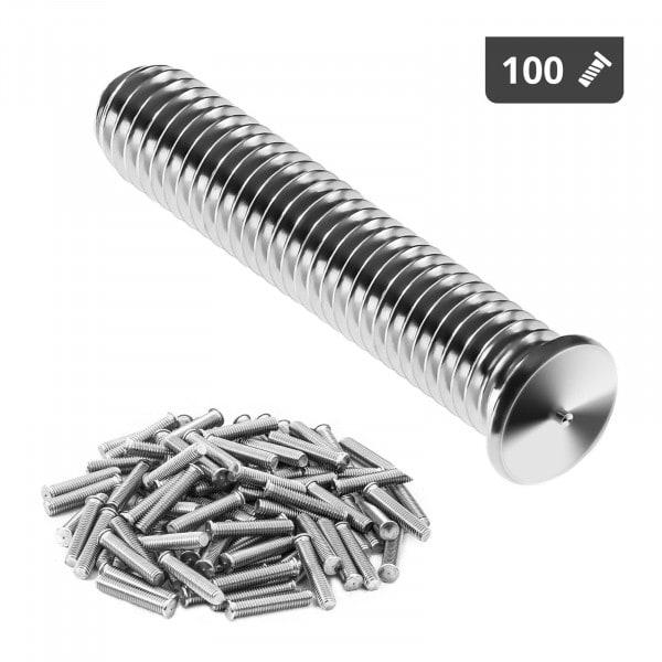 Kołki do zgrzewania - M5 - 25 mm - 100 sztuk