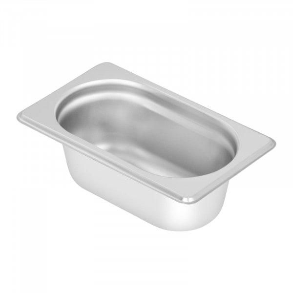 Pojemnik gastronomiczny - GN 1/9 - głębokość 65 mm