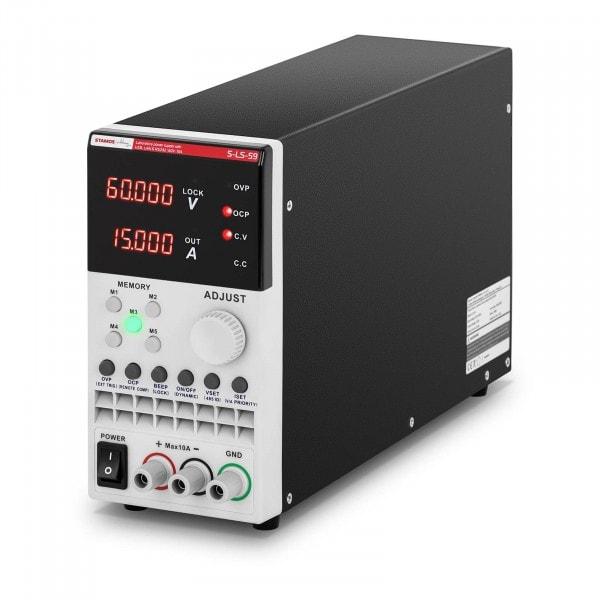 Zasilacz laboratoryjny - 0-60 V - 0-15 A - 300 W - USB - LAN - RS232