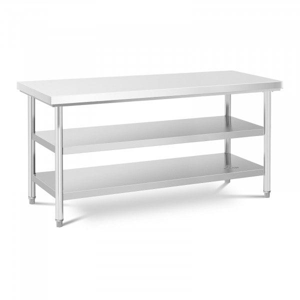 Stół roboczy - 70 x 180 cm - 600 kg - 3 poziomy