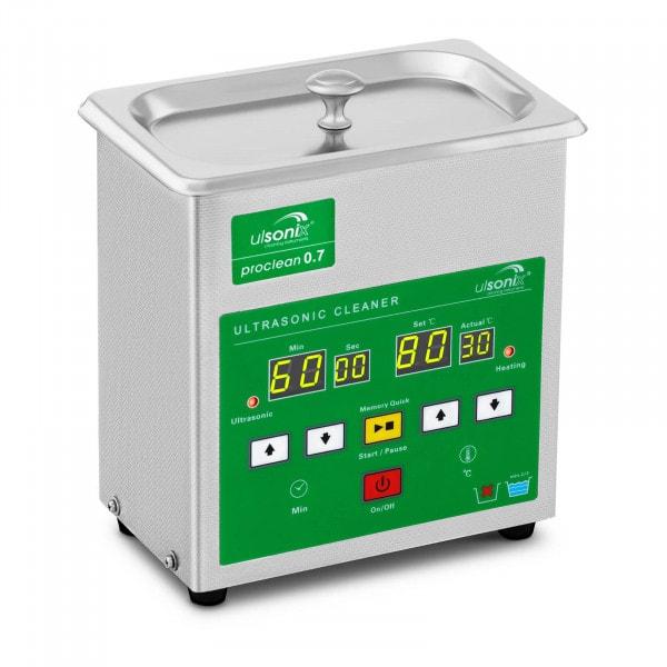Myjka ultradźwiękowa - 0,7 litra - 60 W - 4 x LED