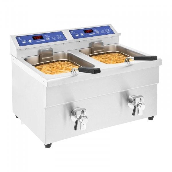 Frytownica indukcyjna - 2 x 10 litrów - 60-190°C