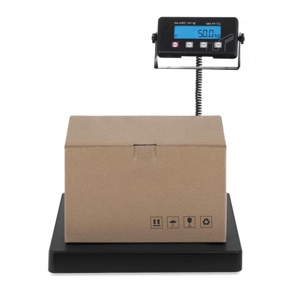 Waga paczkowa - 75 kg / 10 g - terminal LCD