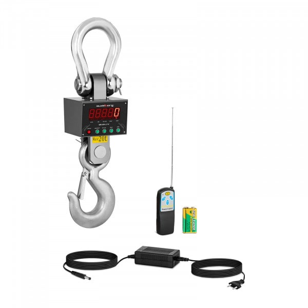 Waga hakowa - 20000 kg / 5 lub 10 kg - LED