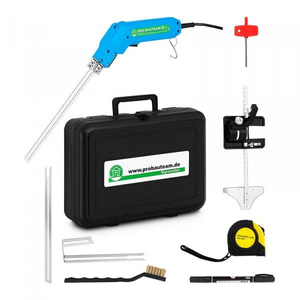Nóż termiczny do styropianu - 250 W - prowadnica