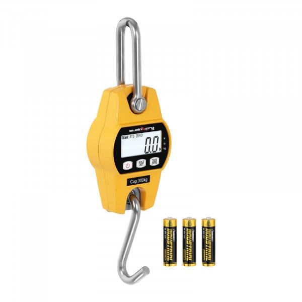 Waga hakowa - 300 kg / 100 g - żółta