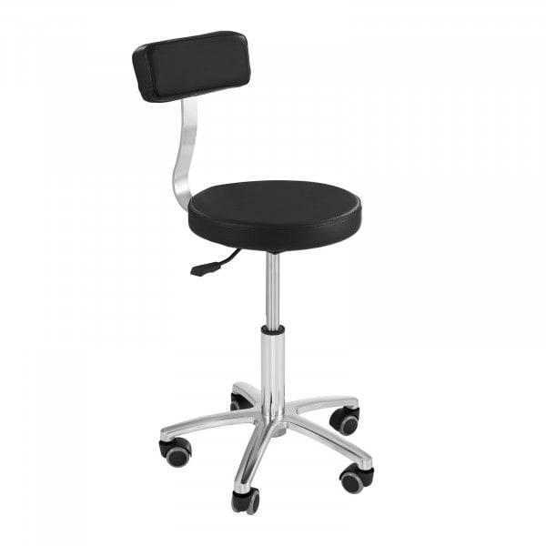 Krzesło kosmetyczne Physa Terni - czarne