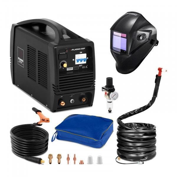 Przecinarka plazmowa - 60 A - 400 V + Maska spawalnicza - Carbonic - Professional