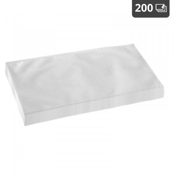 Worki moletowane do pakowania próżniowego - 200 szt. - 28 x 40 cm
