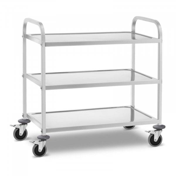 Wózek kelnerski - 3 półki - 355 kg