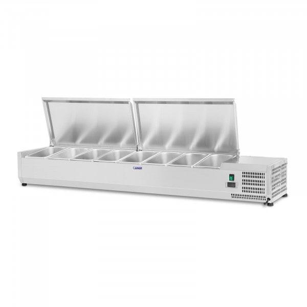 Nadstawa chłodnicza - 7 x GN 1/4 - 160 x 33 cm