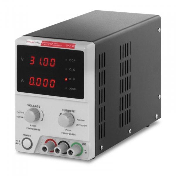 Zasilacz laboratoryjny - 0-30 V - 0-5 A DC - przewód USB