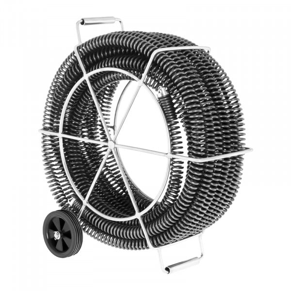 Spirala do rur - zestaw - 4 x 4,65 m / Ø 32 mm
