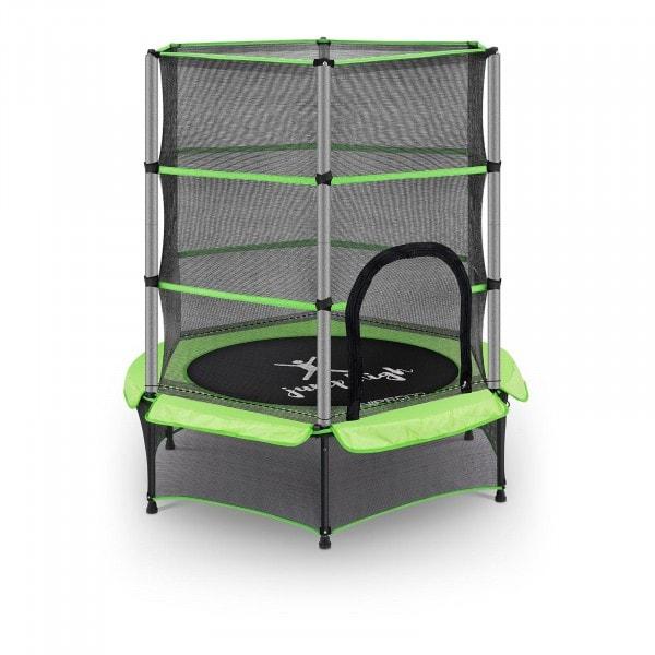 Trampolina dla dzieci - zielona - do 50 kg - Ø140 cm
