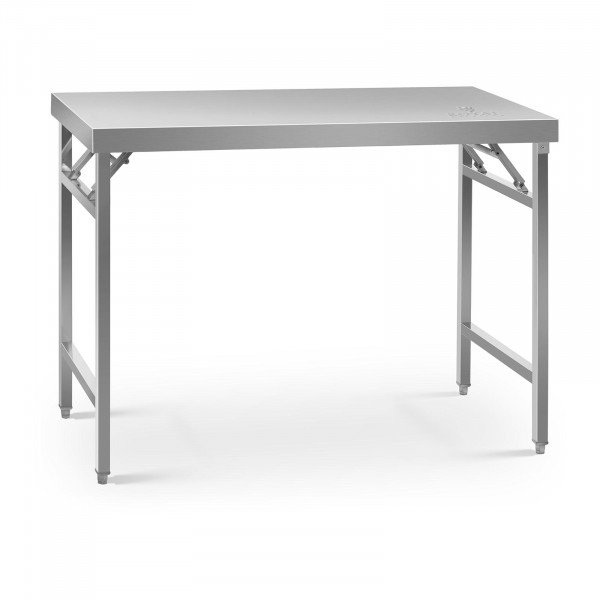 Składany stół roboczy - 120 x 60 cm - 210 kg