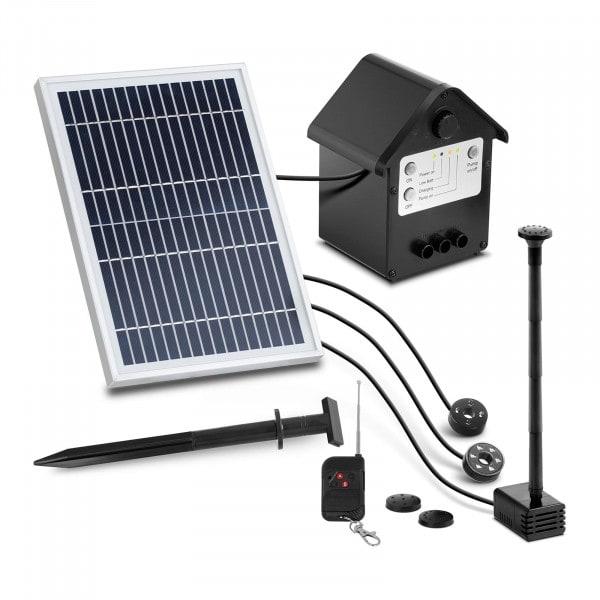 Pompa solarna do oczka wodnego - fontanna - 250 l/h - 0,8 m