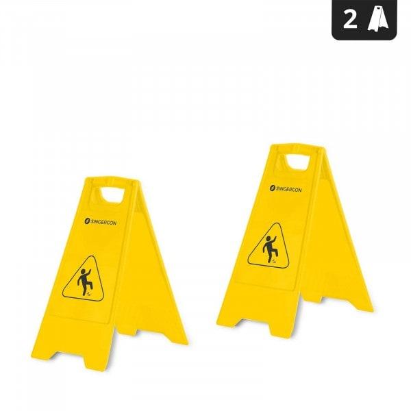 Potykacz - znak ostrzegawczy - Uwaga ślisko - 2 szt.