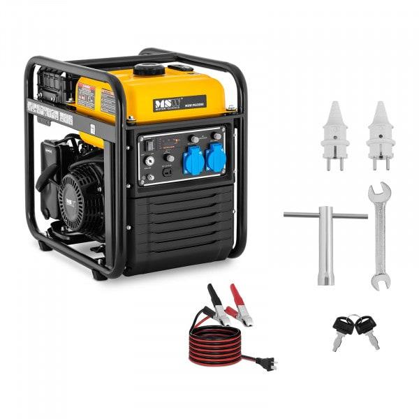 Agregat prądotwórczy - 3800 W - 230 V AC / 12 V DC - rozruch ręczny