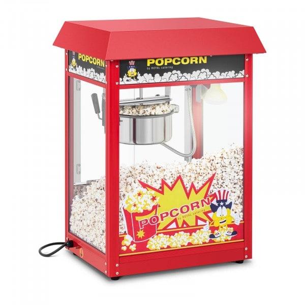 Maszyna do popcornu - czerwony daszek - 1600 W