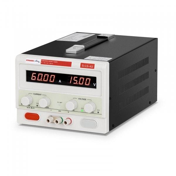 Zasilacz laboratoryjny - 0-15 V - 0-60 A DC