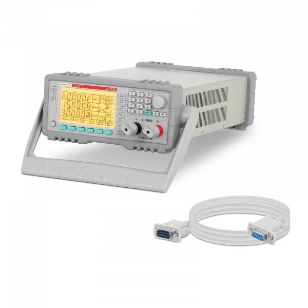 Zasilacz laboratoryjny - 0-60 V - 0-15 A DC - RS 232 - funkcja pamięci - LCD