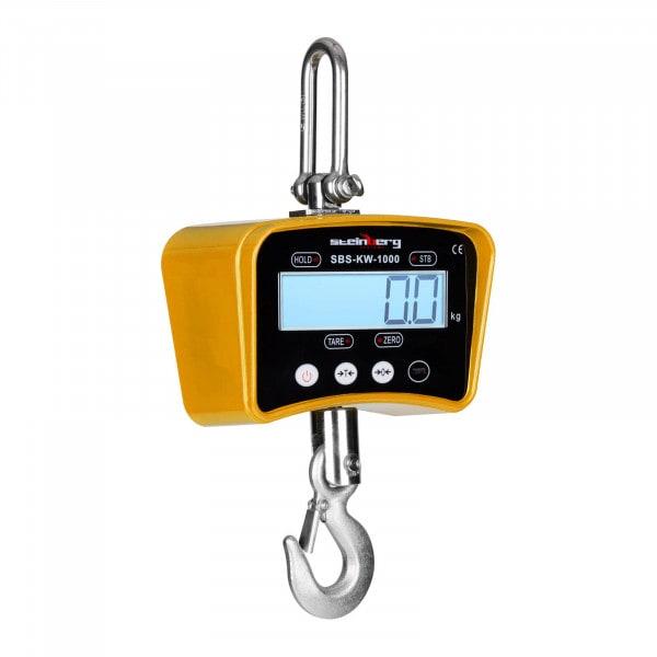 Waga hakowa - 1 t / 0,2 kg - żółta