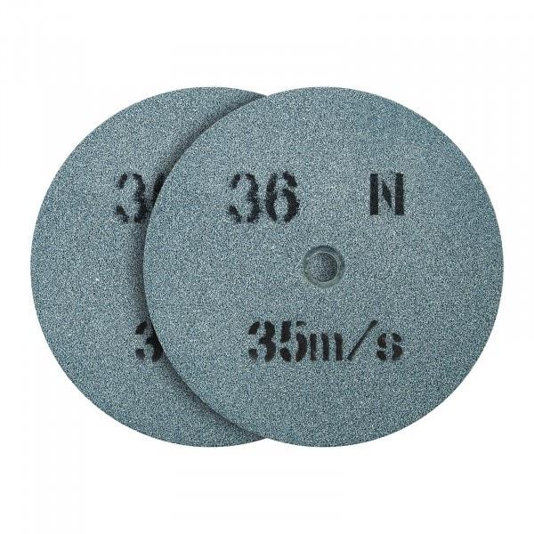 Tarcza do szlifowania - ziarnistość 36 - 150 x 16 mm - 2 szt.