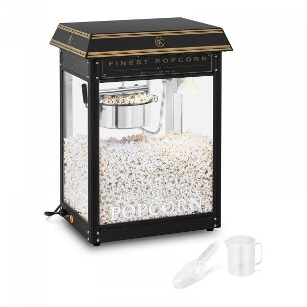 Maszyna do popcornu - czarno-złota
