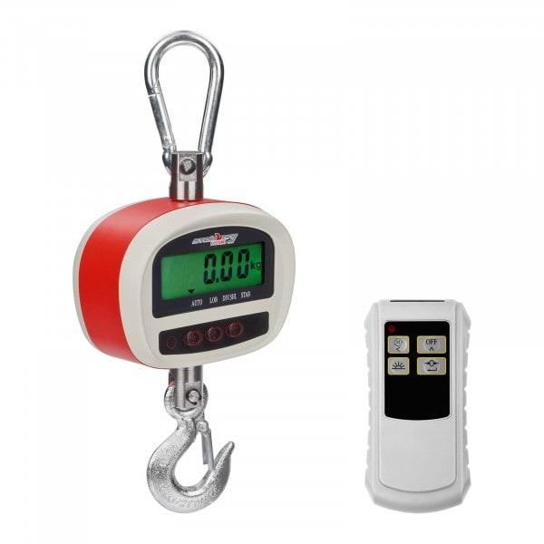 Waga hakowa - 300 kg / 50 g - LCD