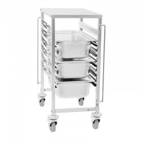 Wózek transportowy Royal Catering RCTW 6 GN 1/1 z półką 6xGN