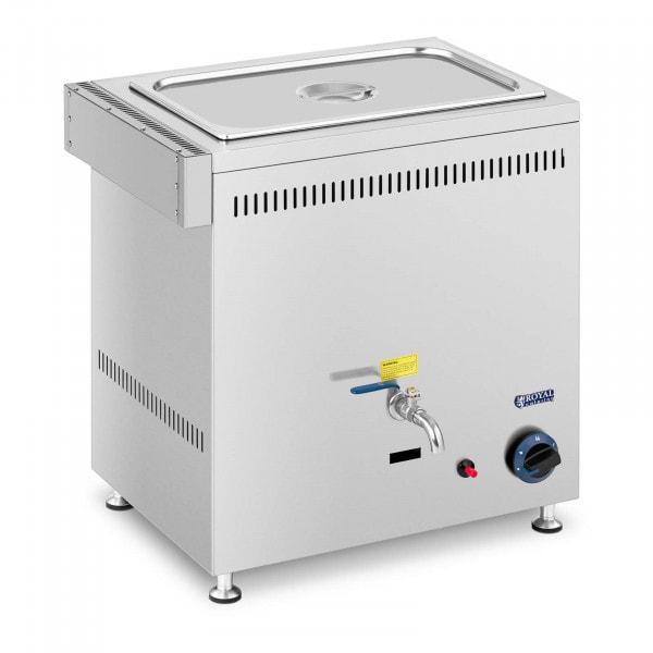 Bemar gazowy - 3300 W - 1 GN - 0,02 bar - G20