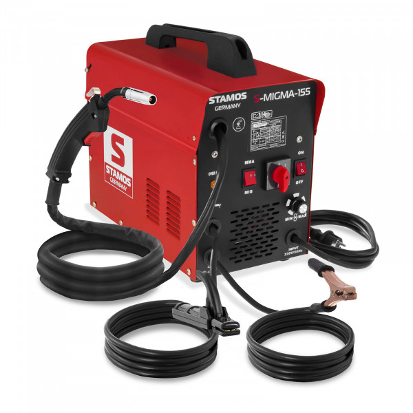 Spawarka MIG/MAG - 155 A - 230 V - przenośna - drut gratis